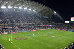 Hong Kong Grugby Sevens stock afbeelding