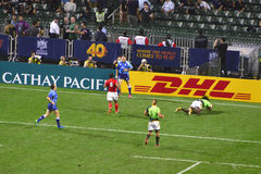 Hong Kong Grugby Sevens Stock Images