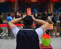 hong kong grzechu tai świątyni wong Obraz Royalty Free