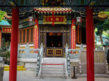 hong kong grzechu tai świątyni wong Zdjęcie Royalty Free