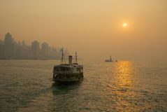 Hong Kong, gwiazda prom zdjęcia stock