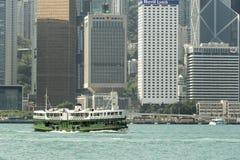 Hong Kong gwiazdy ferryboat Zdjęcie Royalty Free