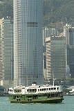 Hong Kong gwiazdy ferryboat Zdjęcie Stock