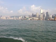 Hong Kong halvö Royaltyfria Bilder