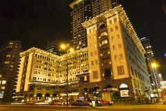 Hong Kong halvö Arkivfoto
