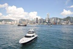 Hong Kong hamn Royaltyfria Bilder