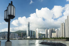 Hong Kong Harbor Images stock