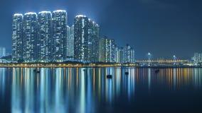 Hong Kong Harbor Fotografering för Bildbyråer