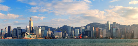 Hong Kong Harbor Arkivfoto