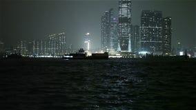 Hong Kong Harbor stock video footage