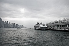 Hong Kong Harbor Royalty Free Stock Photography