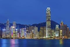 Hong Kong harbor Stock Images