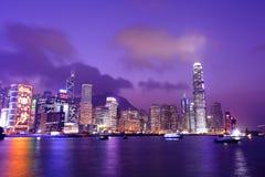Hong Kong harbor view Stock Photo