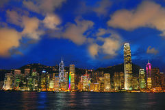Hong kong harborscape Royalty Free Stock Photo