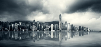 Hong Kong Harbour Royalty Free Stock Photography