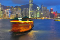 Hong Kong Harbour Royalty Free Stock Photo