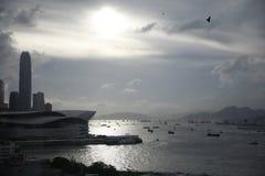 Hong Kong Harbour Imagenes de archivo