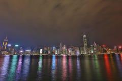 Hong Kong Harbour bij 2016 Stock Afbeelding