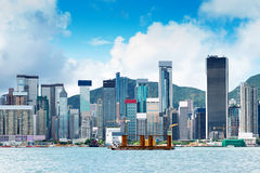 Hong Kong harbour Royalty Free Stock Image