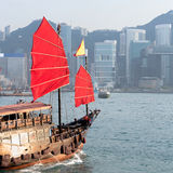 Hong Kong harbour Royalty Free Stock Image
