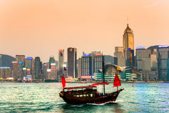 Hong Kong Harbour. Stock Images