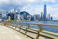 Hong Kong harbour Stock Photography