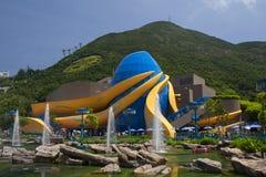 Hong Kong havpark Royaltyfri Foto