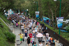 Hong Kong havpark Arkivfoto