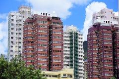 Hong Kong hem- byggnad Arkivbilder