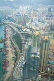 Hong Kong High angle View Stock Photography