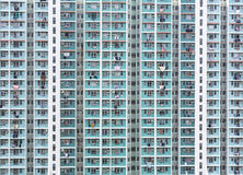 Hong Kong high density housing Stock Images