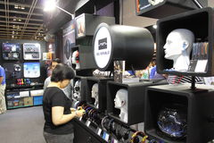Hong Kong High-End Audio-Visual Show 2013 Arkivbild