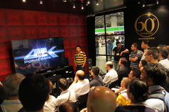 Hong Kong High-End Audio-Visual Show 2013 Royalty Free Stock Image
