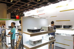 Hong Kong High-End Audio-Visual Show 2013 Royalty Free Stock Photos