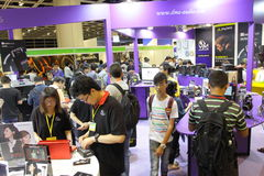 Hong Kong High-End Audio-Visual Show 2013 Royalty Free Stock Photo