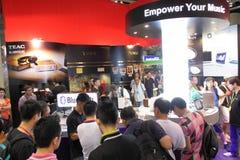 Hong Kong High-End Audio-Visual Show 2013 Stock Photography