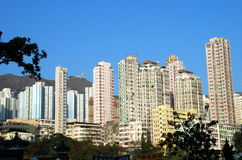 Hong Kong: High-Rise Apartment Towers Stock Images