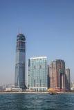 Hong Kong Highrise Construction Royalty Free Stock Photography