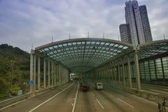 Hong Kong highway Stock Image