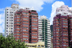 Hong Kong home building Stock Images