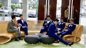 Hong Kong Hotel Icon Royalty Free Stock Photos