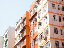 Hong Kong Housing Apartments Stock Images