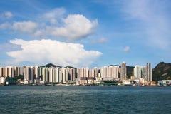 Hong Kong housing in Kowloon Royalty Free Stock Image