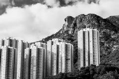 Hong Kong Housing landscape Royalty Free Stock Photos