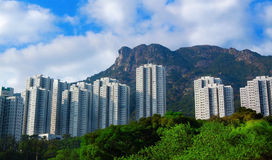 Hong Kong Housing landscape Stock Photo