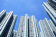 Hong Kong housing Royalty Free Stock Photos