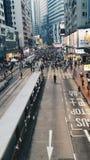 Hong Kong i dag Arkivfoto