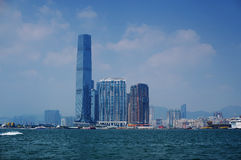 Hong Kong ICC Royalty Free Stock Photography