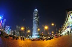 Hong Kong IFC Foto de archivo libre de regalías