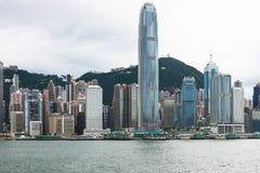 Hong Kong-Insel-Skyline Stockbilder